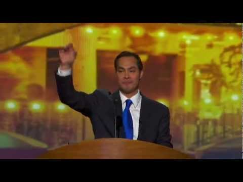 Julian Castro delivers DNC keynote address