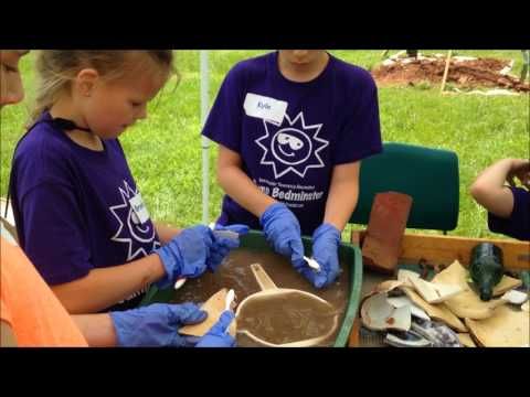 Archaeology Campers Uncover Evidence Of A 19th Century Barn