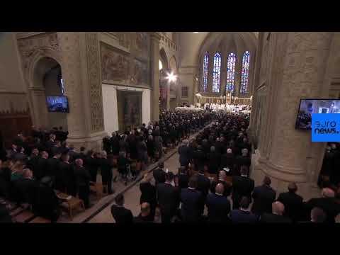 Live: Funeral Of Luxembourg's Ex-monarch Grand Duke Jean