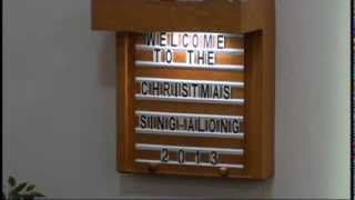 A Christmas Sing Along 2013   Chilliwack Canadian Reformed Church