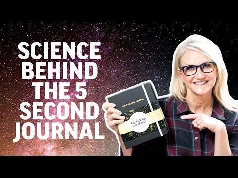The Science Behind the 5 Second Journal | Mel Robbins
