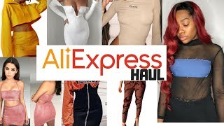 Aliexpress Summer Clothing Haul 2018 (ALL UNDER $15) | Instagram Baddie Haul