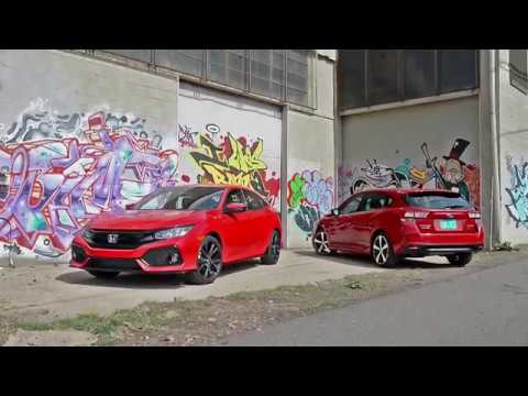 2017 Subaru Impreza vs. 2017 Honda Civic: What's the best new hatchback?