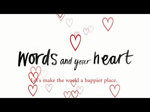 Words And Your Heart | Kate Jane Neal | picture book trailer
