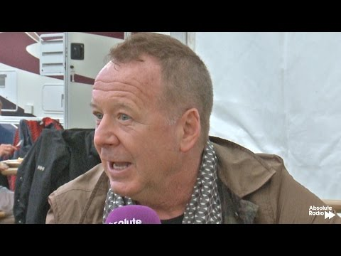 Simple Minds interview - Cornbury Festival 2014