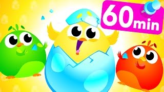 Surprise Baby Eggs! Chicks, Bunnies & Baby Shark by Little Angel
