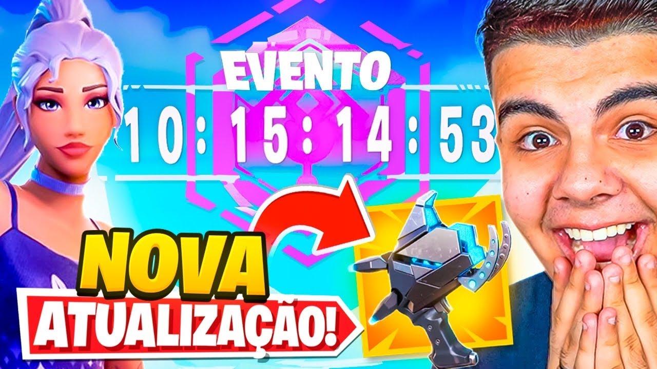 CANHÃO DE PLASMA, EVENTO E TUDO QUE VOCÊ PRECISA SABER NA ATUALIZAÇÃO 17.20 DO FORTNITE!!