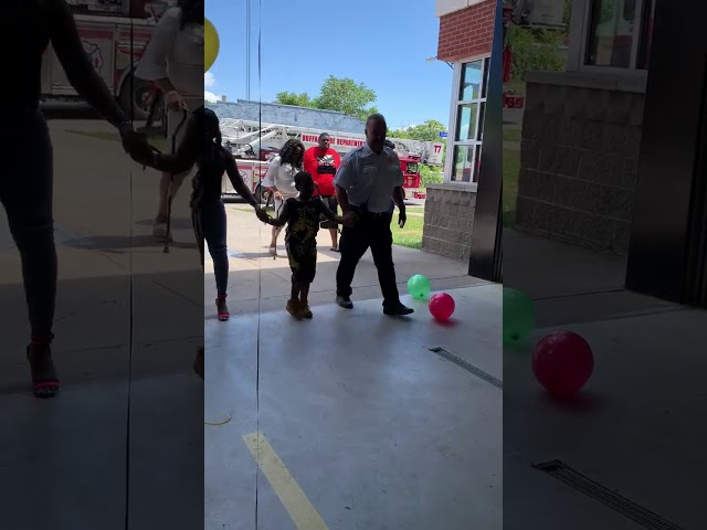 Buffalo firefighters throw surprise birthday party for boy who lost everything in fire