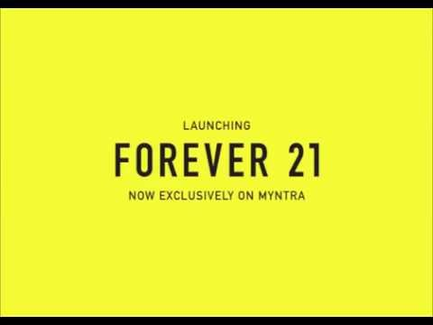 Forever 21 now on Myntra