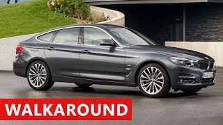 2017 BMW 3 Series Gran Turismo Walkaround - Test Drive