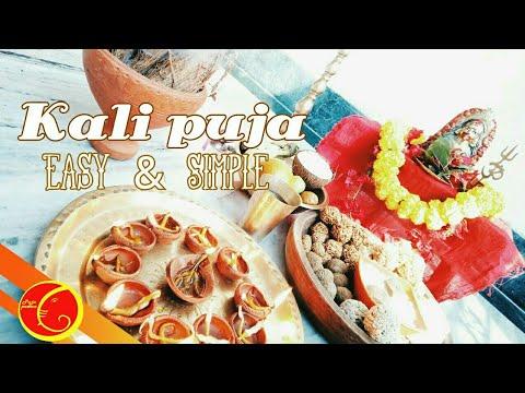 Kali Puja Vidhi Easy And Simple | Kali Puja Mantra | Kali Puja Bengali 2019