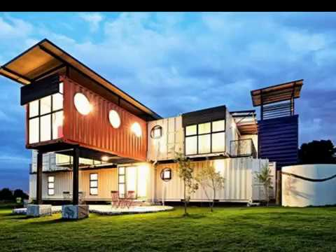 Spectacular Storage Container Mansion YouTube