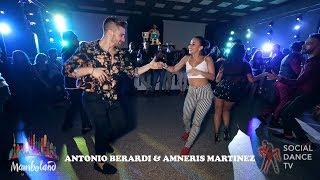 Antonio Berardi & Amneris Martinez - salsa social dancing | Mamboland Milano 2018