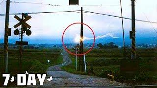 Шаровая молния - уникальные видео очевидцев