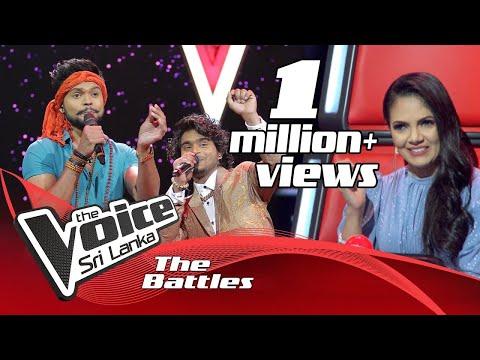 The Battles : Chanaka Madhushanka V Thimira Nilupul    Amude   The Voice Sri Lanka