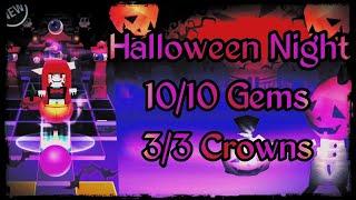 Rolling Sky Halloween Night.Rolling Sky Halloween Night Level 32