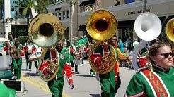 2019 Naples St Patrick's Day Parade - Dunbar Tigers High School - Naples, FL - 031619-SAT