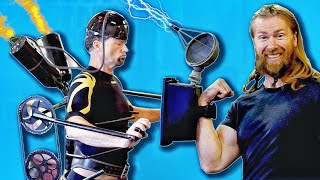 We Predict The Future of Fitness. Sci-Fi Gym Gear!