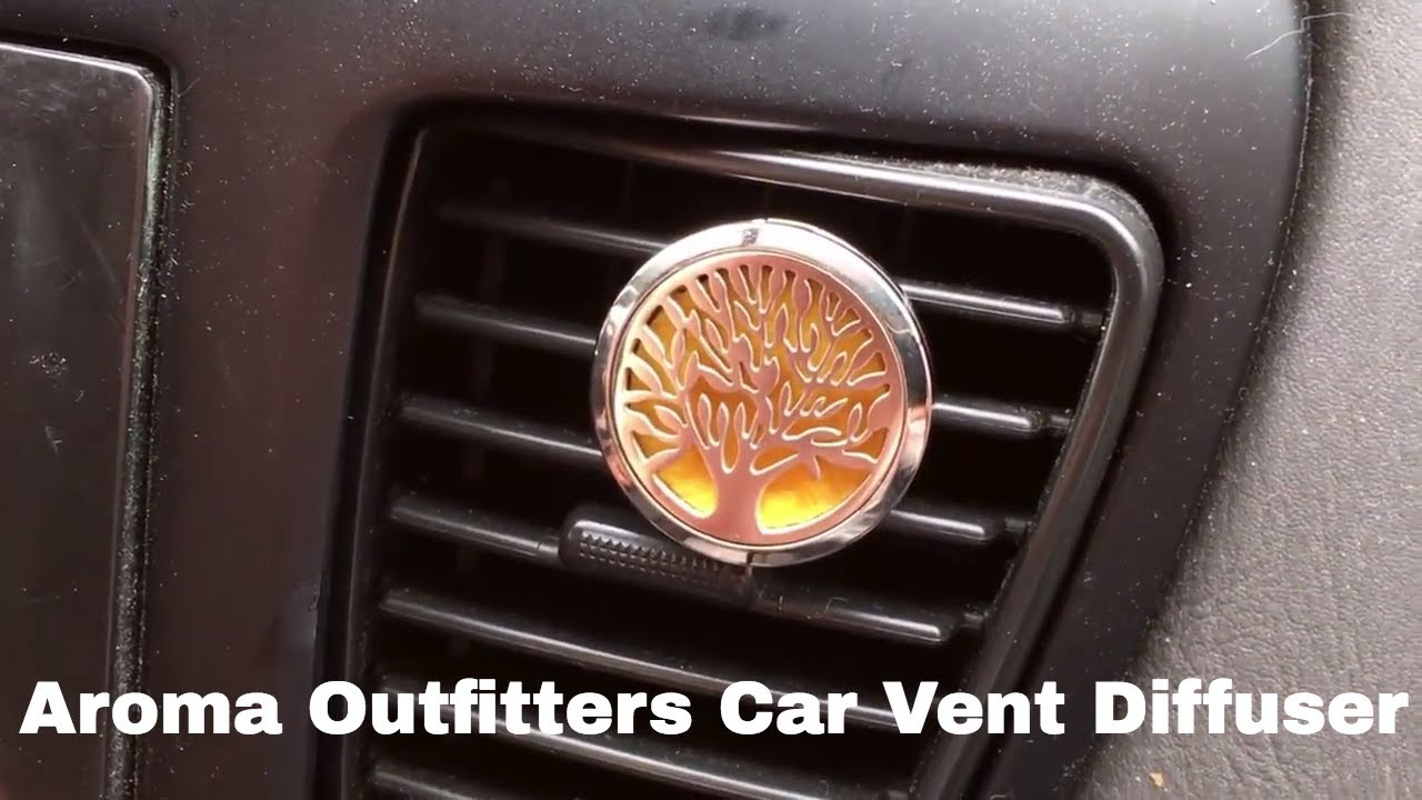 Essential Oil Car Vent Diffuser Clip By Aroma Outfitters Youtube