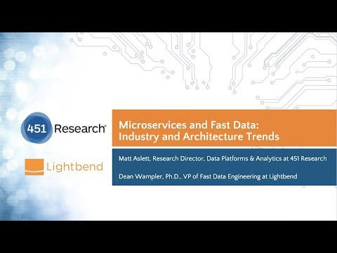 Microservices and Fast Data: Industry and Architecture Trends