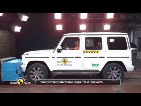 Euro NCAP Crash Test Of Merchandise-Benz G-Class 2019