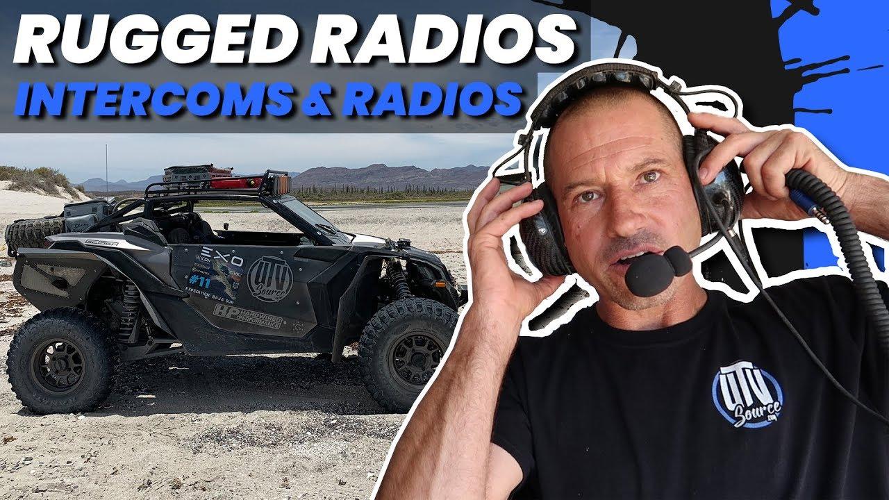 or RM-45 RM-100 Rugged Radios RZR XP Turbo S Radio /& Intercom Mount RM-60