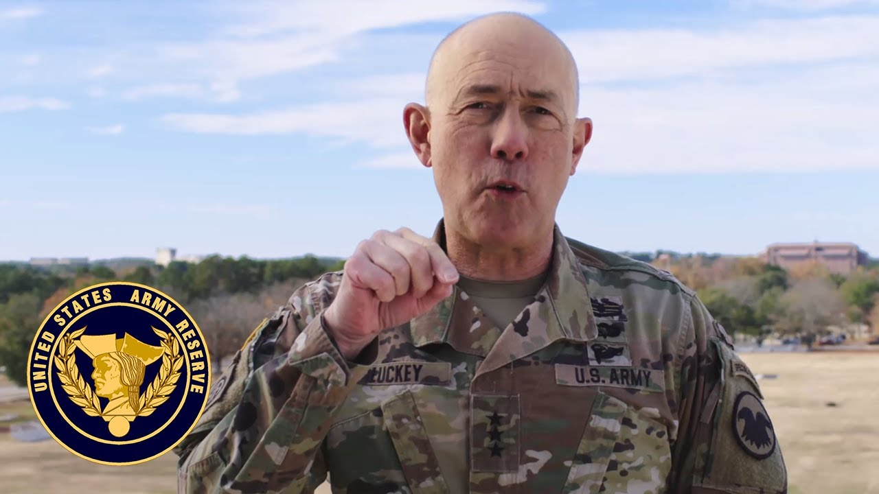 Lt. Gen. Charles D. Luckey, chief of Army Reserve and commanding general, U.S. Army Reserve Command, has a very special message about the Army Navy Game.