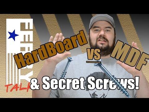 HardBoard VS MDF & Secret Screws (FT21)