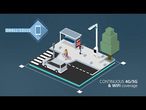 RFS Smart Pole - Modular Urban Telecom Infrastructure