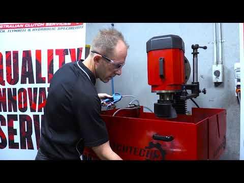 CLUTCH TECH: Flywheel Grinder Tutorial