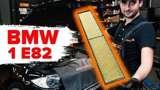 Como substituir Filtro de ar do habitáculo BMW 1 Coupe (E82) - vídeo guia