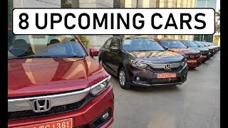 8 upcoming cars in India in next three months