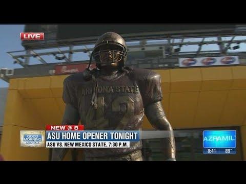 Sun Devil Stadium features new Tillman Tunnel, statue & video board