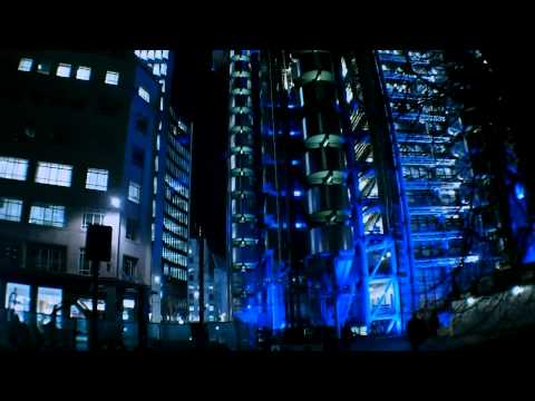 London night time lapse/stop-motion - Fleet Street to Holborn Viaduct