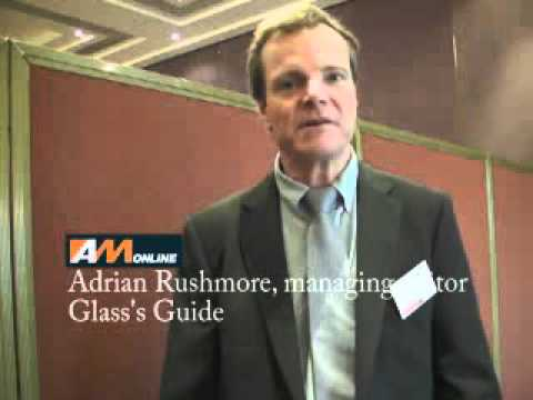 Adrian Rushmore, Glass's Guide managing editor