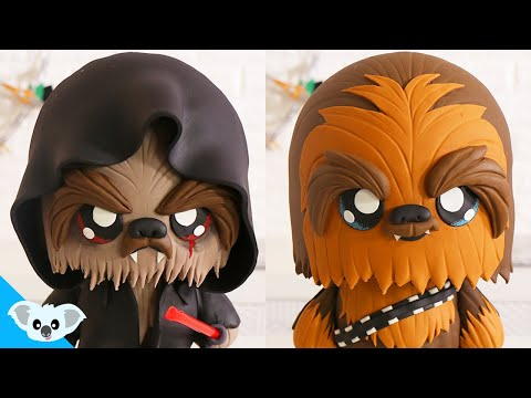 STAR WARS DOUBLE SIDED CAKE | Amazing CHEWBACCA Cake | Koalipops