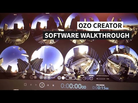 OZO Creator Software Walkthroug @ ACM Siggraph 2016 Los Angeles