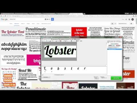 Как определить русский шрифт. Программа FontDetect - Копилка 023