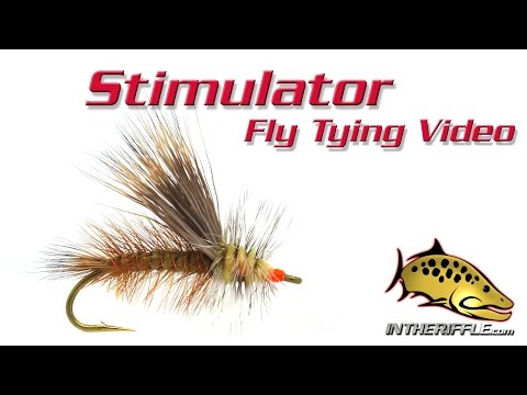 Stimulator Fly Tying Video Instructions - Randall Kaufmann Fly Pattern