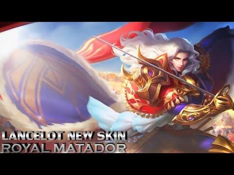 NEW SKIN ROYAL MATADOR LANCELOT SKILLS EFFECTS PREVIEW - Mobile Legends