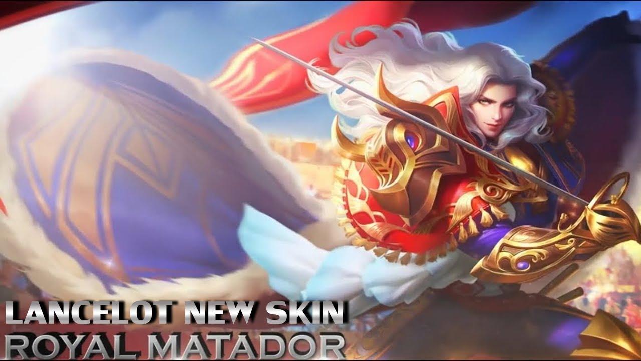 NEW SKIN ROYAL MATADOR LANCELOT SKILLS EFFECTS PREVIEW Mobile Legends