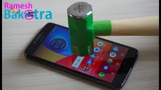 Moto E4 Plus Screen Scratch Test Gorilla Glass