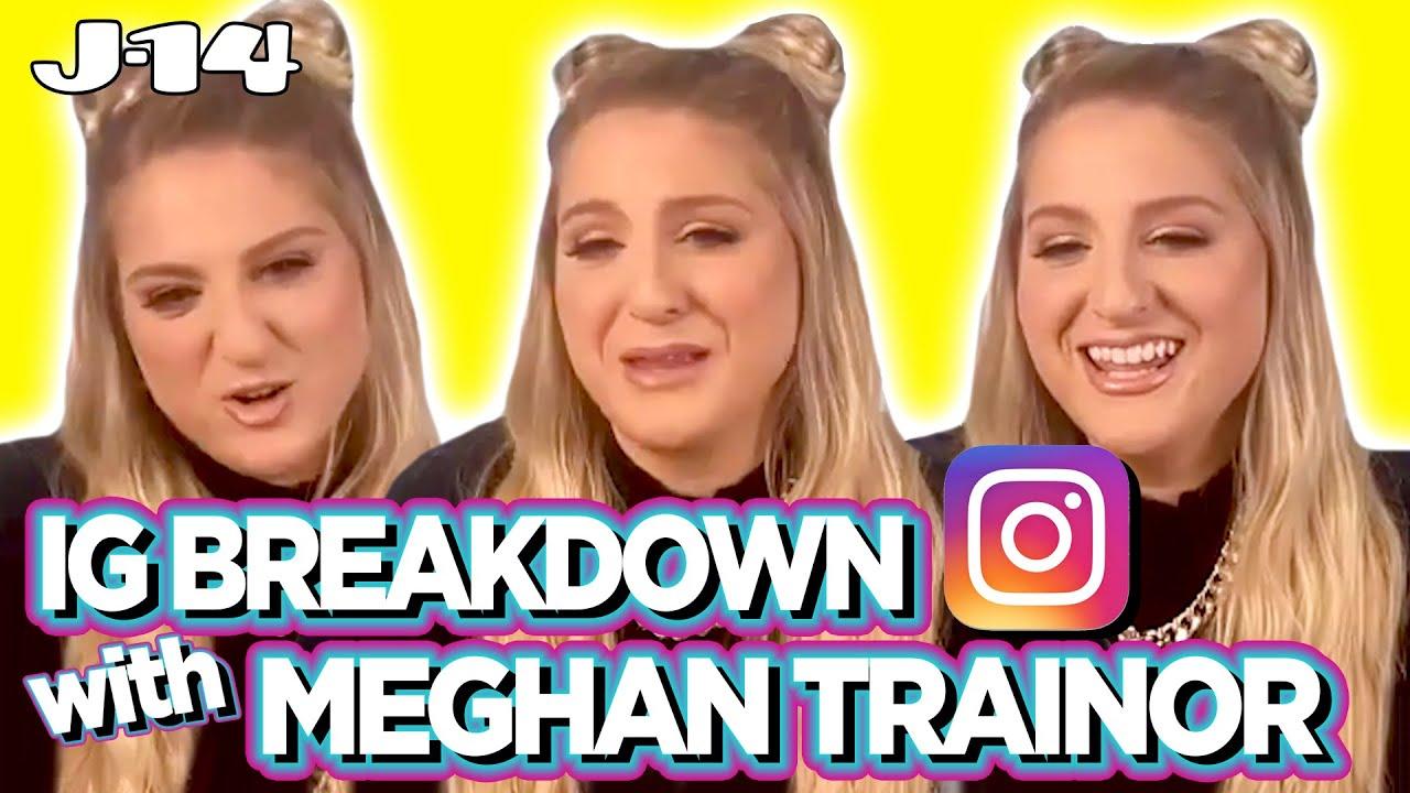 Meghan Trainor Reacts to Old Pics With JoJo Siwa, Daryl Sabara and More | IG Breakdown