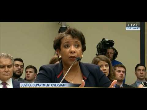 Trey Gowdy exposes Loretta Lynch lack of transparency on Hillary Clinton e mails decision