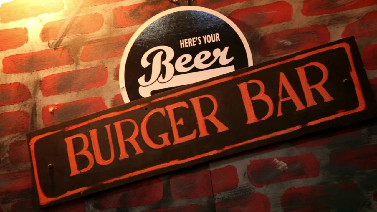 Here S Your Beer Burger Bar Promo Youtube