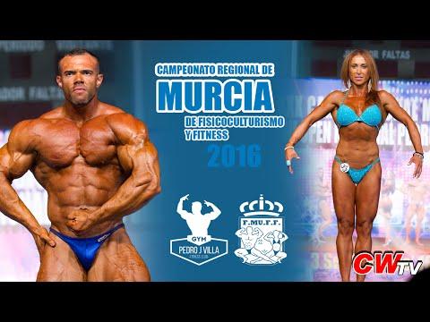 Campeonato Regional de Murcia de Fisicoculturismo y Fitness FEFF 2016