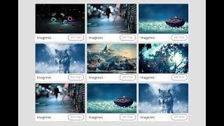 Galeria de imagenes con html5 y Css3