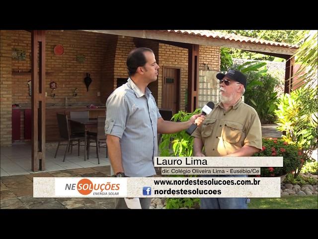 Testemunhal do Cliente Colégio Oliveira Lima