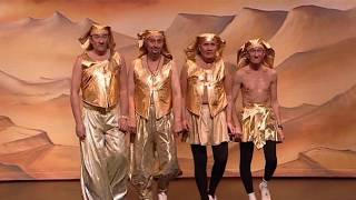 The ChuckleBrothers Sand Dance, 12 Days of Chuckling