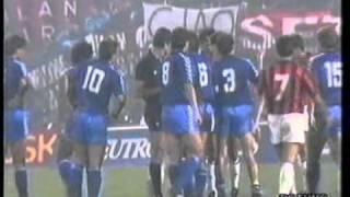 Milan - Real Madrid 2-0  Coppa dei Campioni 1989-90  Ottavi  ANDATA